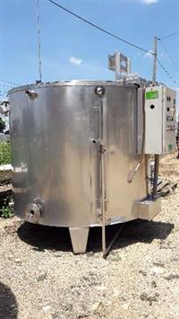 Misturador em aço inox 304 1.800 litros