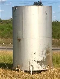 Tanque reservatorio aço carbono 9 mil litros