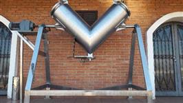 Misturador em V aço inox