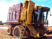 Colheitadeira Case Cotton 2555 ano 96 c/ plataforma Busa Adensado 2011