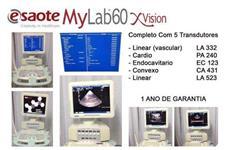 Vende-se aparelho de Ultrassom Esaote MyLab 60 Xvision  completo com 5 transdutores