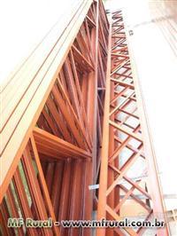 Estrutura Metálica  -Galpão c/ telha Galvanizada