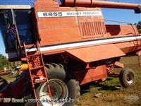 Colheitadeira Massey Ferguson 6855