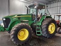 Trator John Deere 7205 J 4x4 ano 11