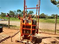 Pulverizador agrícola marca Jacto modelo Condor M12 600 litros