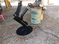 DISCO DE CORTE COMPLETO ULTRA FLEX /PST3 S-0905 - 0511044549 E S-0905 - 0511044573 PLANTADEIRA TATU