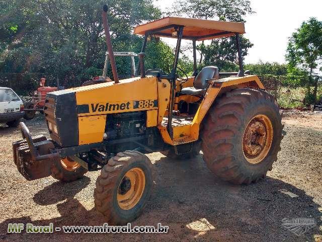 Trator Valtra/Valmet 885 4x2 ano 90