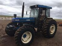 Trator Ford 8030 4x4 ano 93