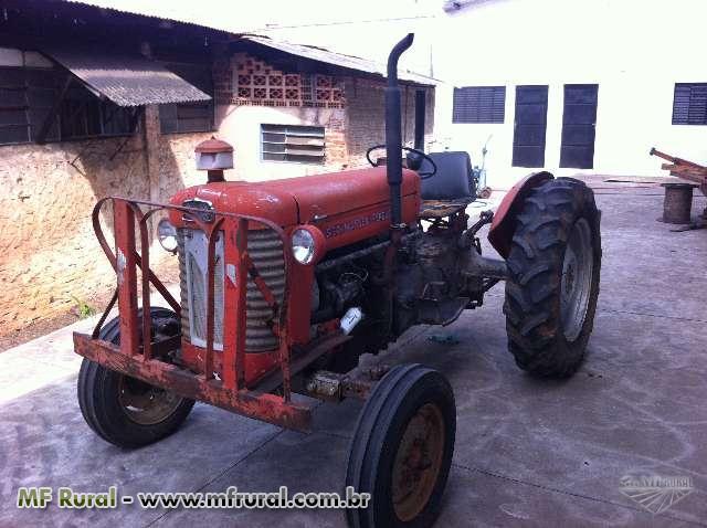 Trator Massey Ferguson 50 X 4x2 ano 80