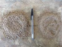 Granulado branco para sementes de pastagens