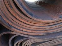 Borracha para reciclagem sem aço