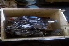 MOTOR KIPOR 3CIL. INCOMPLETO + COMPONENTES  #2788