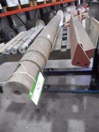 Eixo Rotor para Polias Mov Mmbh 400x1300  #3568