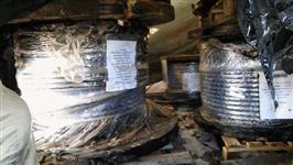 Sucata Cabo de Aço Preformado Polido e Galvanizado  #3721