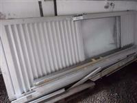 Portas de Alumínio com Vidro - Lote 343  #3511