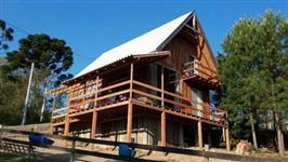 Chácara Estilo Rústico em Balsa Nova - Pr com 150 m² de Área Construída - #1435