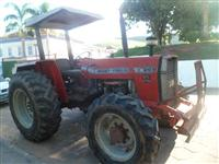 Trator Massey Ferguson 265 4x4 ano 94