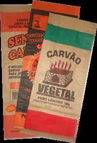 EMBALAGENS CARVÃO / SEMENTES / SACOLAS / FARDOS CAFÉ, ETC
