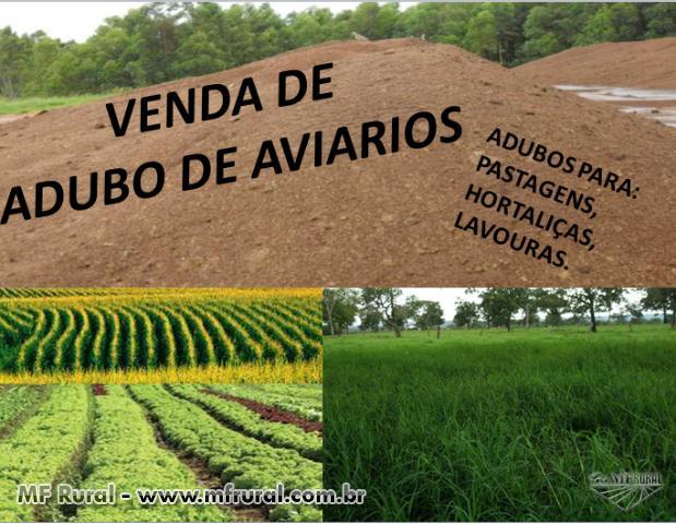 ADUBOS DE AVIÁRIOS