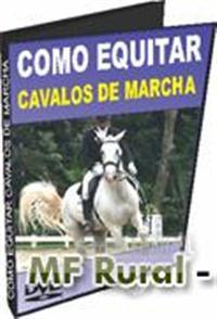 Curso em DVD HV01 - Como Equitar Cavalos de Marcha - DVD