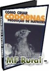 VP101 - Como Criar Matrizes de Codornas - dvd