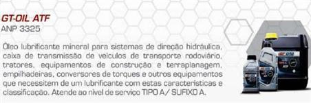 Óleo de Transmissão - ATF - Bd20