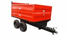 Carreta Agricola Basculante 6 toneladas Rodado Tandem