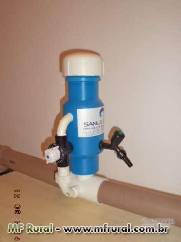 Dosador de cloro org nico continuo industrial rural residencial e piscinas - Irritazione da cloro piscina ...