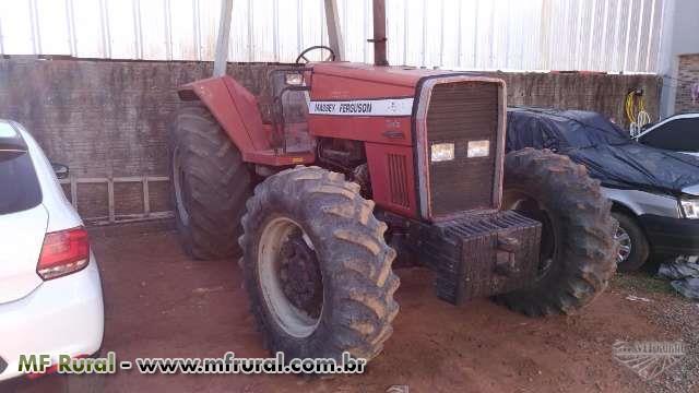 Trator Massey Ferguson 650 4x4 ano 03