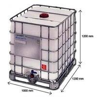 Containner Gradeado de 1000 litros