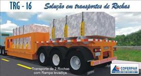 CARRETA PARA TRANSPORTE DE ROCHAS / GRANELEIRO / CONTAINERS