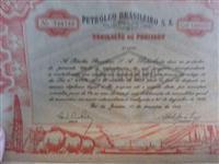Títulos ao Portador Petrobras