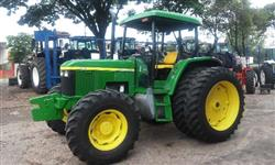 Trator John Deere 6405 FILIPADO  4x4 ano 03