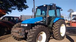 Trator New Holland TL 100 4x4 ano 02