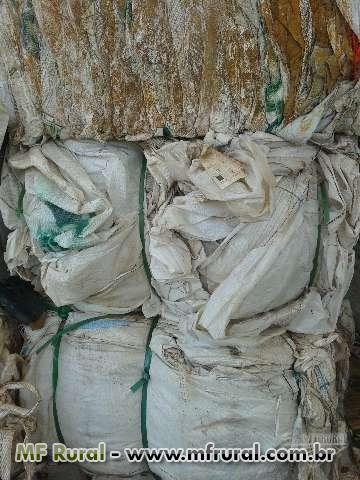 Sucata de big bags