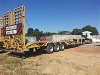 Fazemos frete de maquinas pesadas/ vigas / carga excedentes para todo Brasil