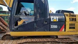 Escavadeira Cat 320 D2