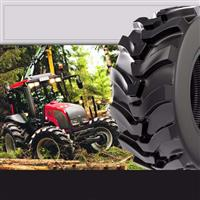 Pneus florestais são indicados para máquinas florestais e operações agrícolas extremas