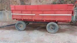 carreta agricola 4 rodas reformada