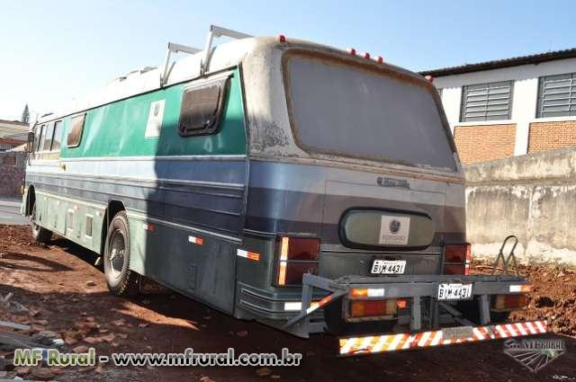 ONIBUS MOTOR HOME - ANO 1969 SCANIA 110