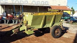 Adubadeira e calcareadeira de precisão, marca KAMAQ modelo komander 36 a cabo, Cap. 2.500 kg