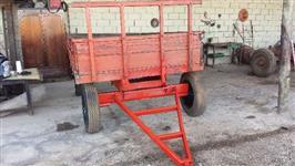 Carreta de 4 rodas 4 toneladas
