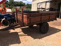 carreta de 2 rodas basculante