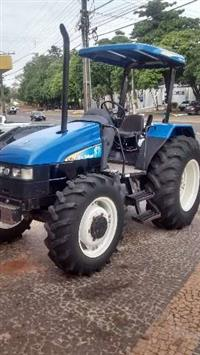 Trator Ford/New Holland TL-60 4x4 ano 05