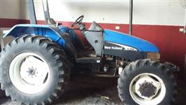 Trator New Holland TL 75 E 4x4 ano 05