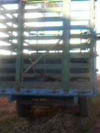 Carreta Agricola para transporte de gado