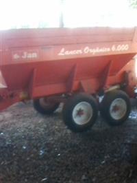 Distribuidor de Fertilizantes Jan  6000