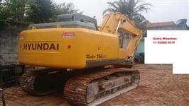 Escavadeira Hyundai R160 ano 2008