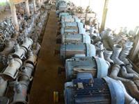Motores e bombas para irrigação