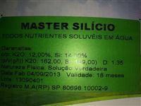 MASTER SILÍCIO COM POTÁSSIO LÍQUIDO,  PROTEGE E NUTRI A PLANTA AO MESMO TEMPO